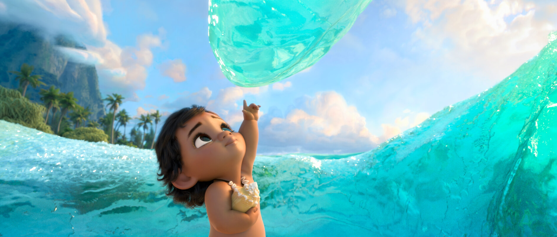 Preview take a glimpse behind the scenes of moana walt for El mural pelicula online
