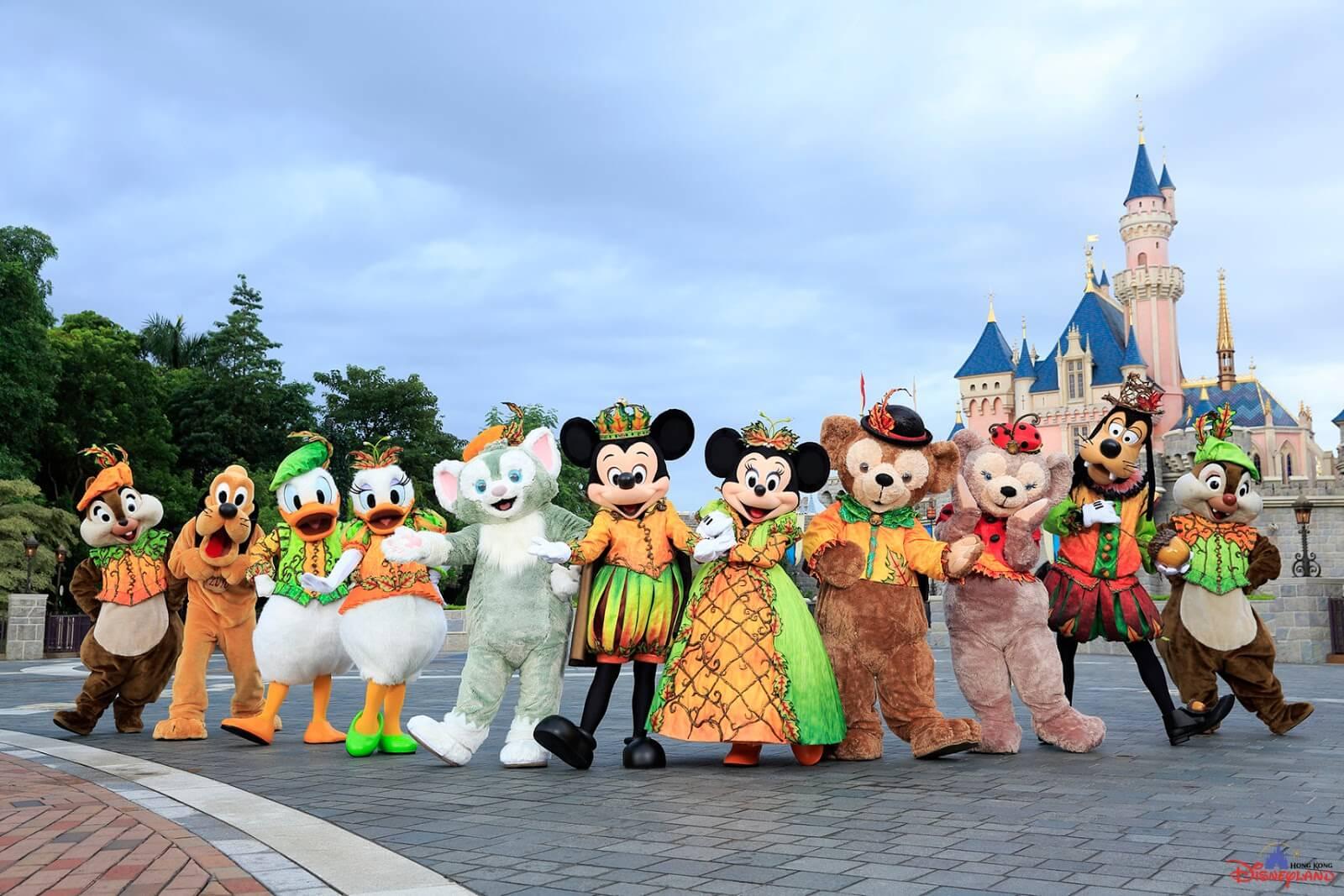 Halloween Disney Villains.Hong Kong Disneyland Celebrates Halloween Time With The Nightmare