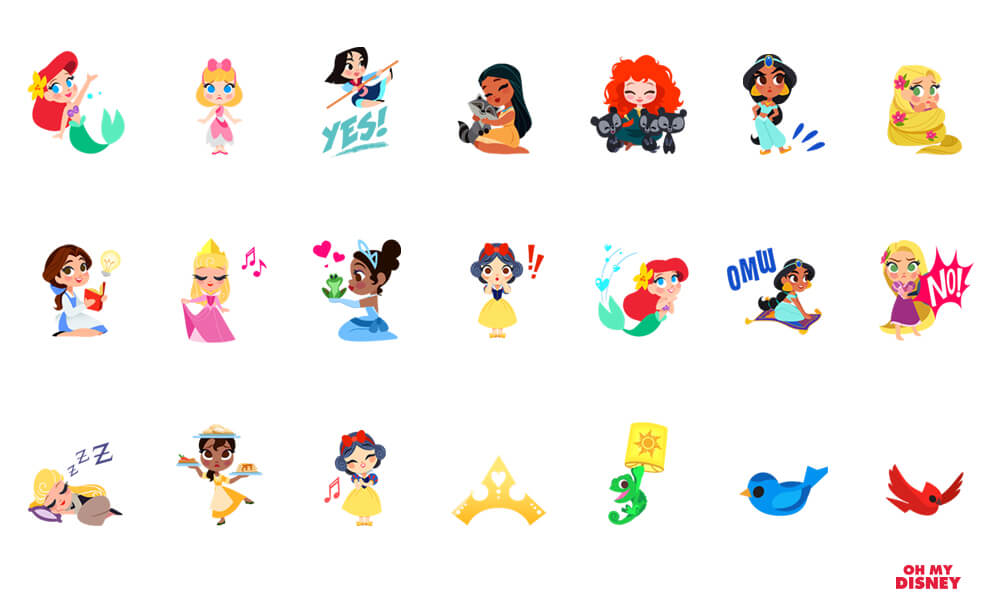 Disney Stickers For IMessage Now Available For Apple IOS