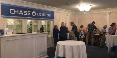 Epcot Chase Lounge