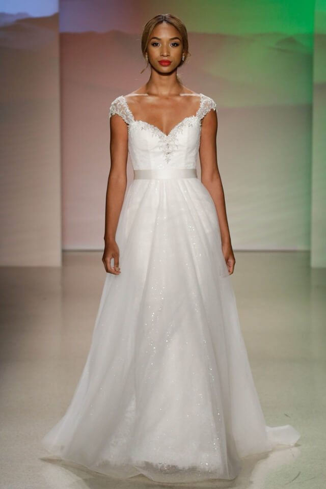 Alfred angelo debuts new disney princess wedding dress for Princess jasmine wedding dress