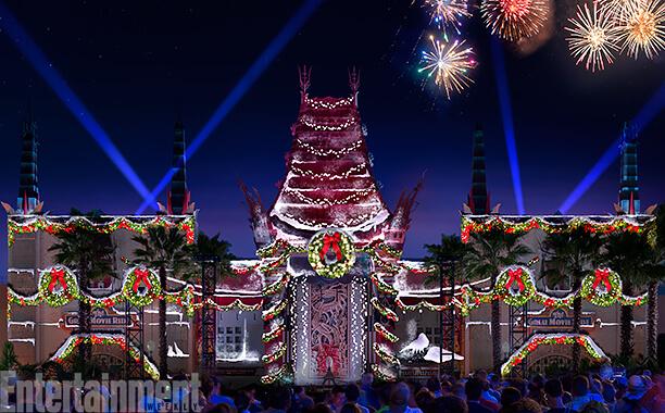 Christmas Lights Disney