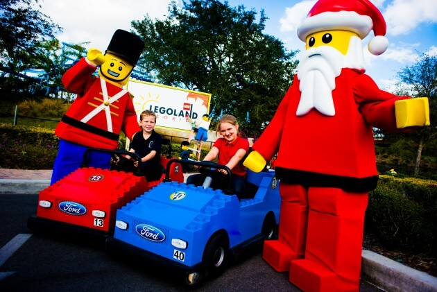 WINTER HAVEN, Fla. - LEGOLAND Florida Resort's Christmas Bricktacular Celebration. PHOTO / LEGOLAND Florida, Merlin Entertainments Group, Chip Litherland)