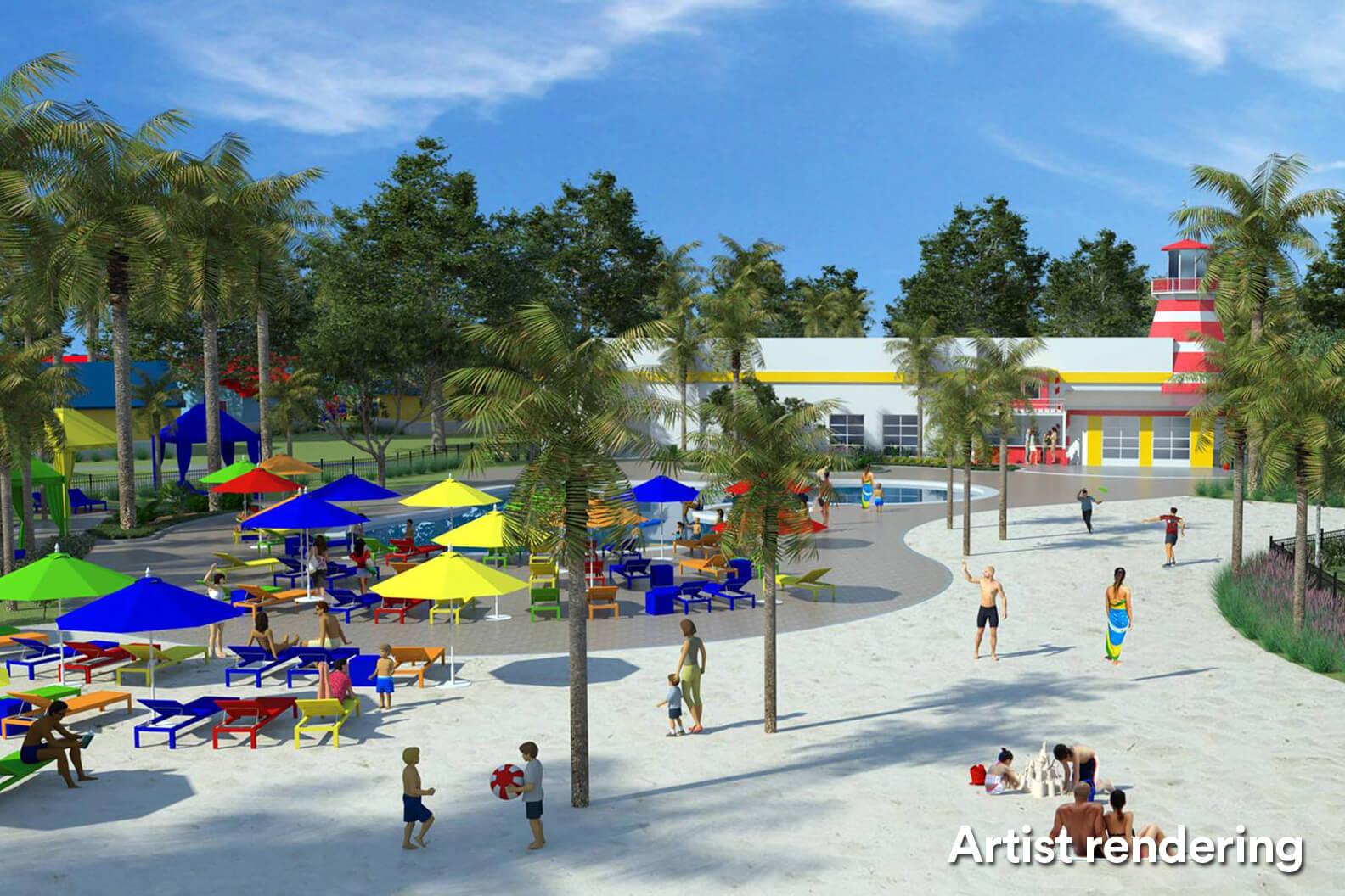 Legoland Beach House