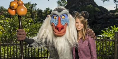 Conservationist Bindi Irwin visits Disney's Animal Kingdom, Photo by Matt Stroshane