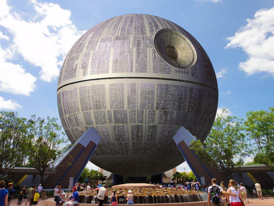 Epcot S Spaceship Earth To Become Giant Star Wars Death