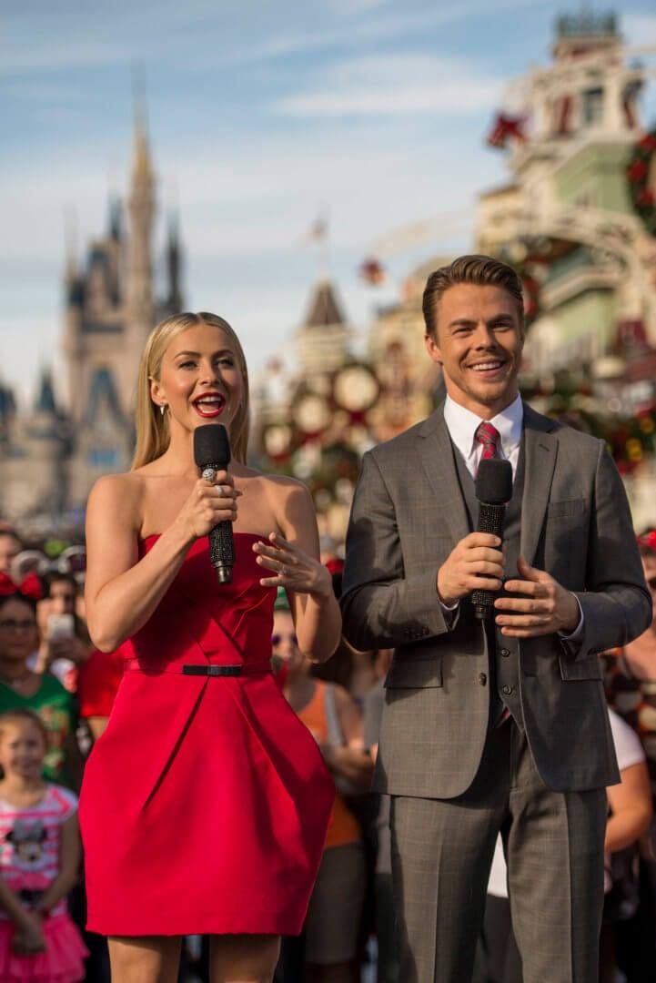 Julianne and Derek Hough host Disney Parks' 33rd Annual Christmas ...