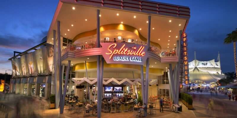 Splitsville Luxury Lanes, Disney Springs