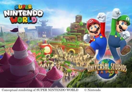 super nintendo world construction