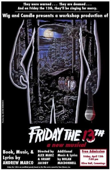 F13 musical poster
