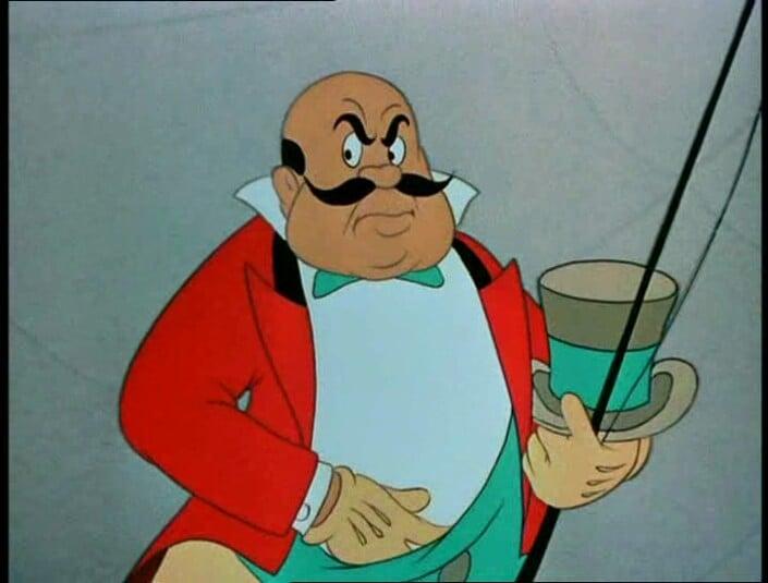 Ringmaster(Dumbo) & Disney Villain Profiles: The Ringmaster from