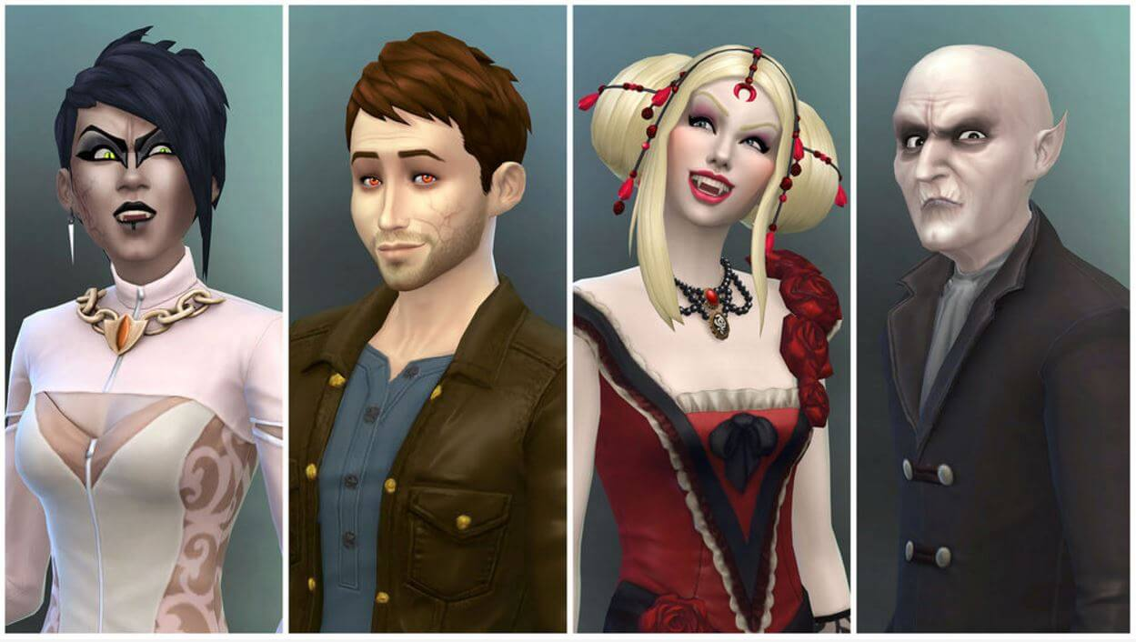 Eternal un-life comes to the Sims 4: Vampires expansion pack