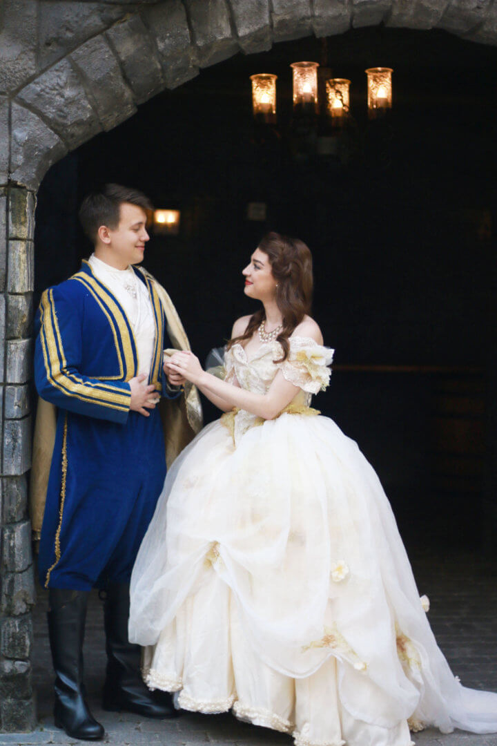 Man Re Enacts Beauty And The Beast Scene For Surprise Marriage