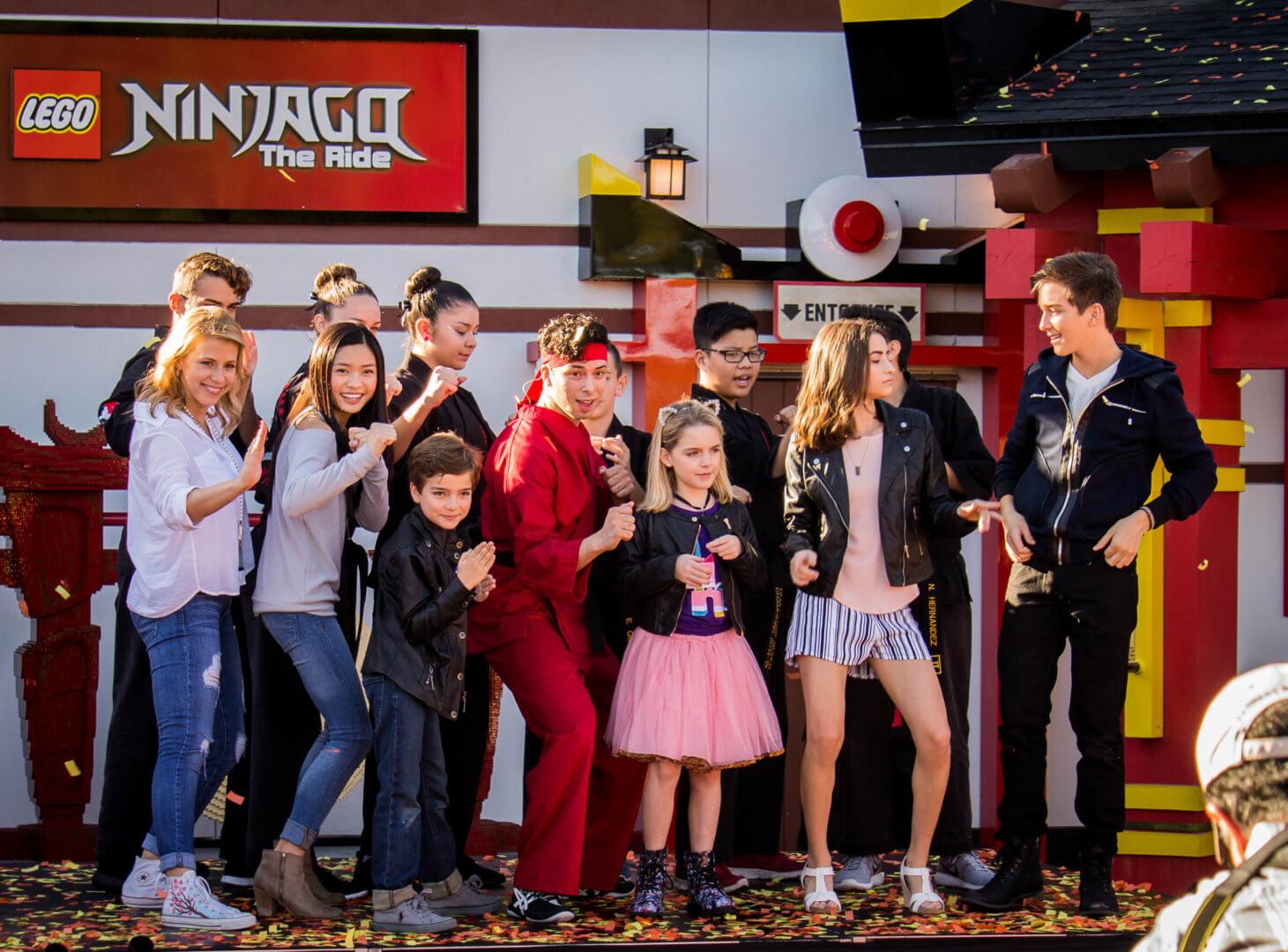 LEGO NINJAGO World grand opens at LEGOLAND Florida with Fuller