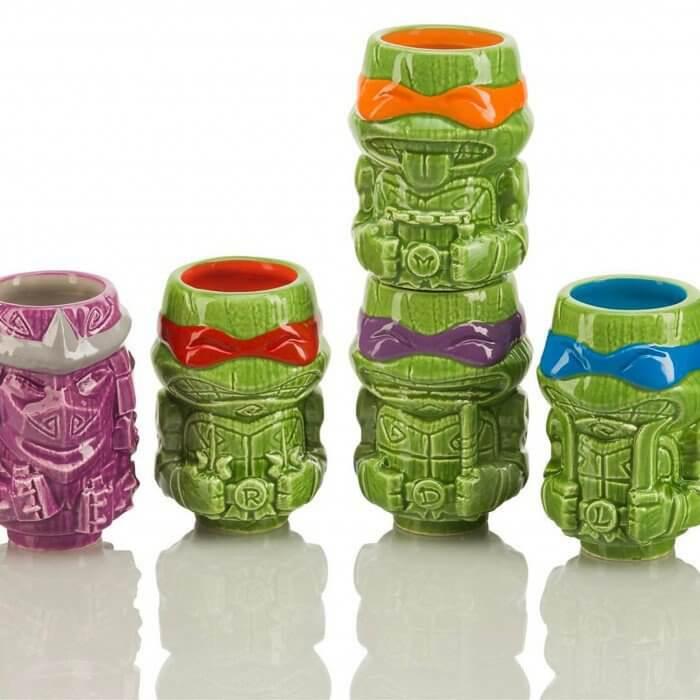 ninja turtle tiki mugs 2