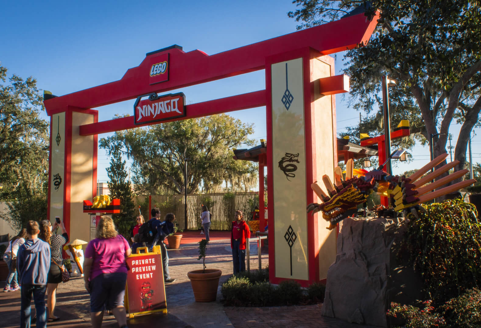 Lego Full House Lego Ninjago World Grand Opens At Legoland Florida With Fuller