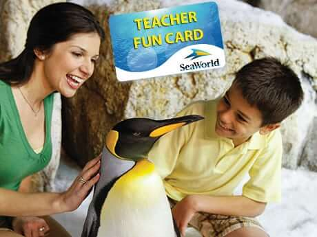 seaworld teacher fun card