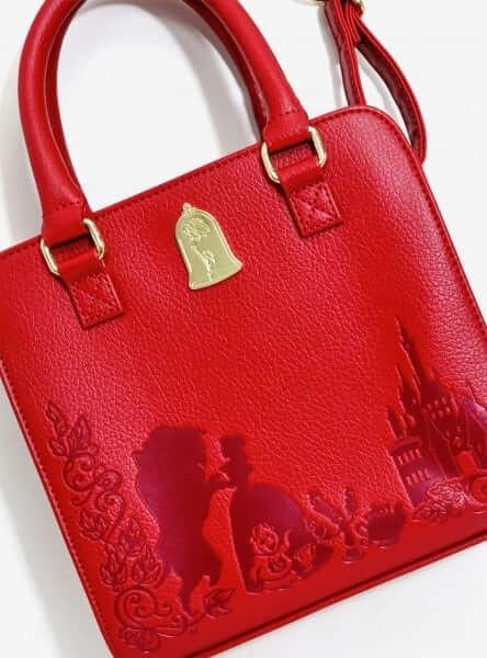 Loungefly Beauty And The Beast Rose Handbag Inside The Magic