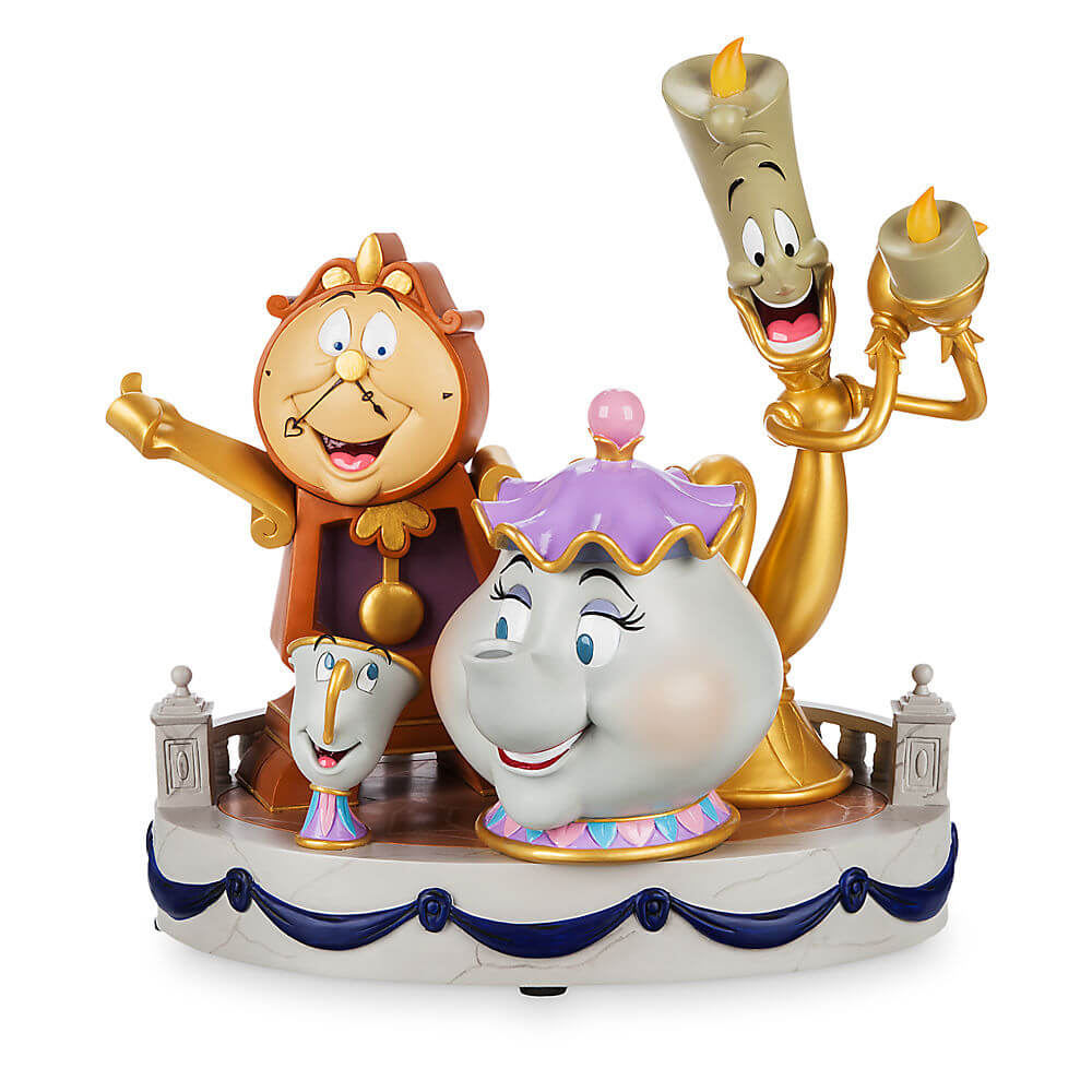 Beauty And The Beast 39 39 Enchanted Objects 39 39 Figurine