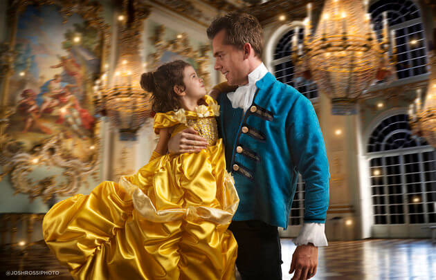 Beauty and the Beast Shoot