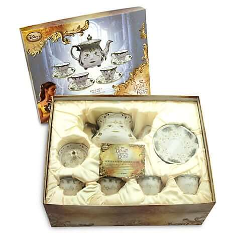 Quot Beauty And The Beast Quot Limited Edition Fine China Tea Set
