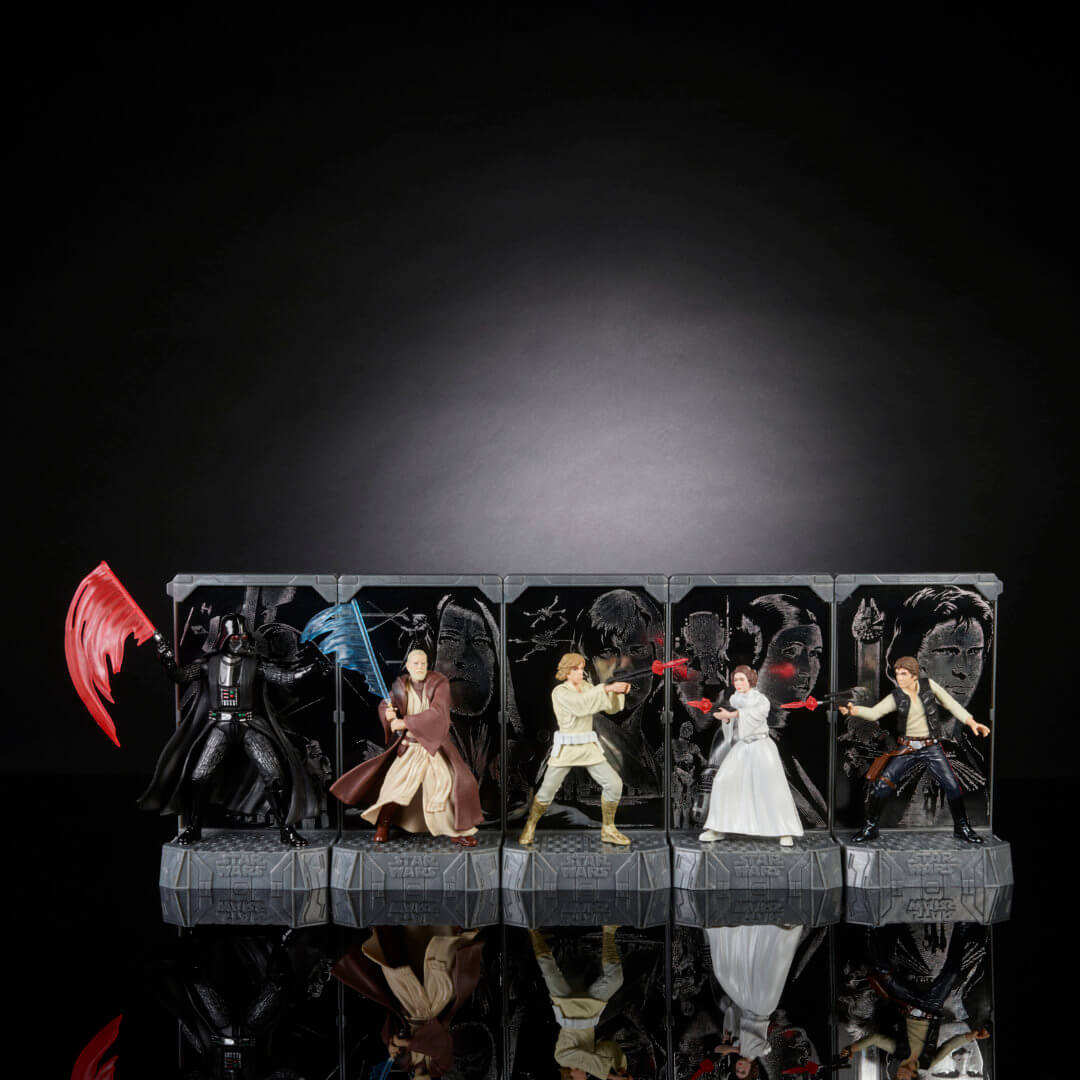 Photos Star Wars 40th Anniversary Toys Revealed By Hasbro Inside The Magic