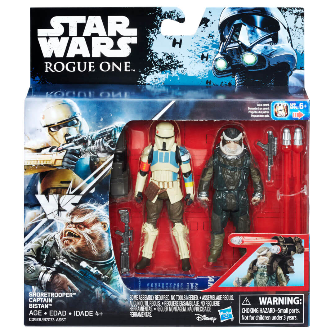 "PHOTOS New ""Rogue e"" and ""Rebels"" Star Wars toys officially"