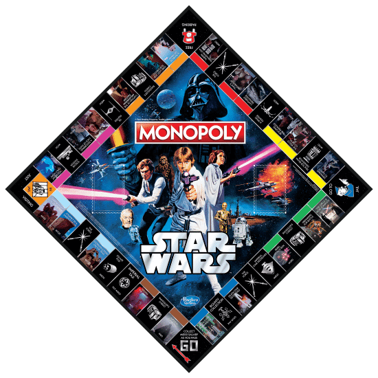 Star Wars Monopoly 40th Anniversary Edition - oop