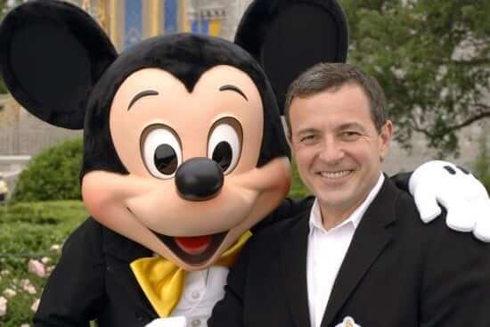 Bob Iger & Mickey Mouse