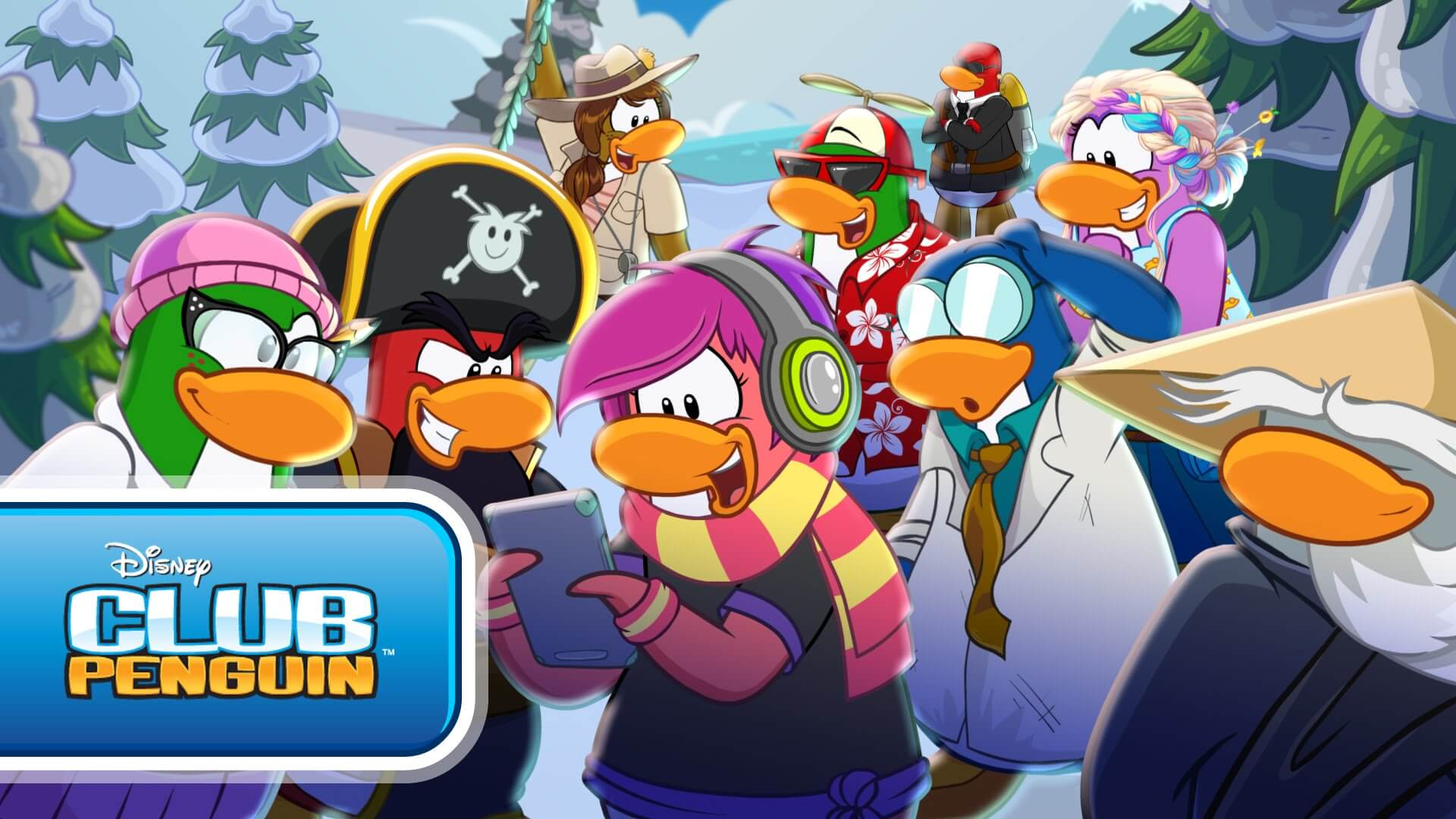 H Club Penguin Disney's so...