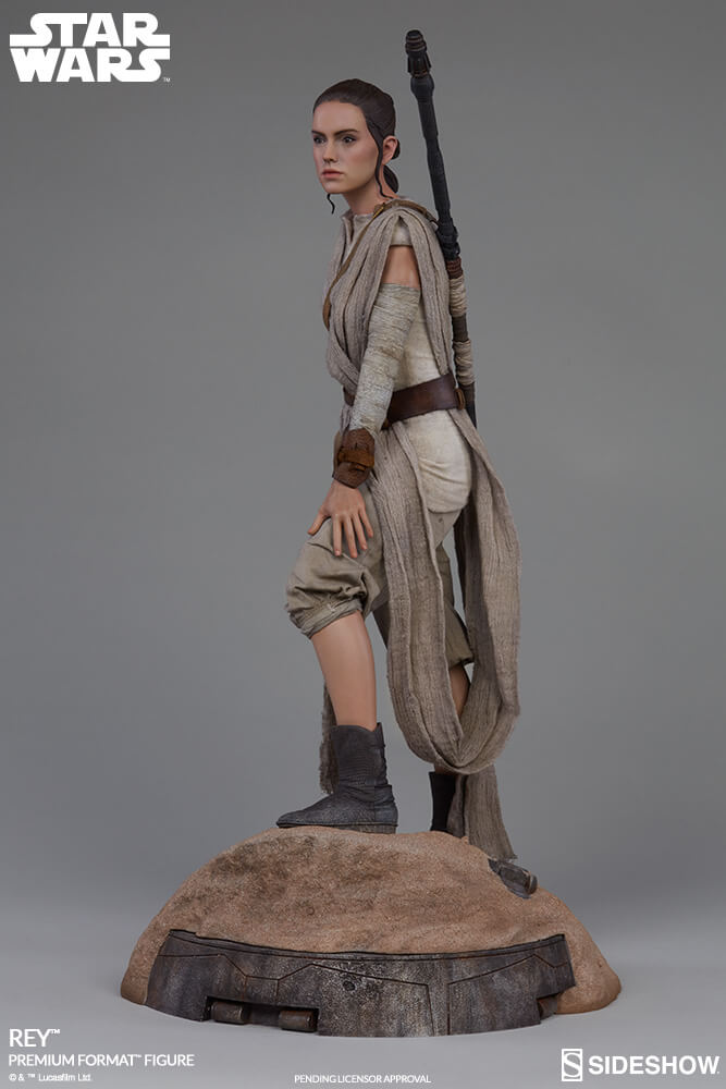 Rey Star Wars Toys : Toy fair premium rey and bb quot star wars the force