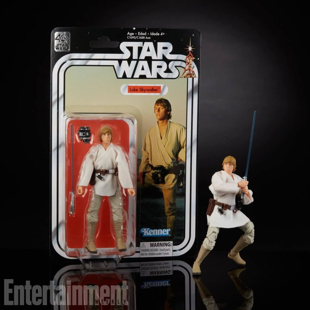New Star Wars Toys : Toy fair star wars black series gets new retro