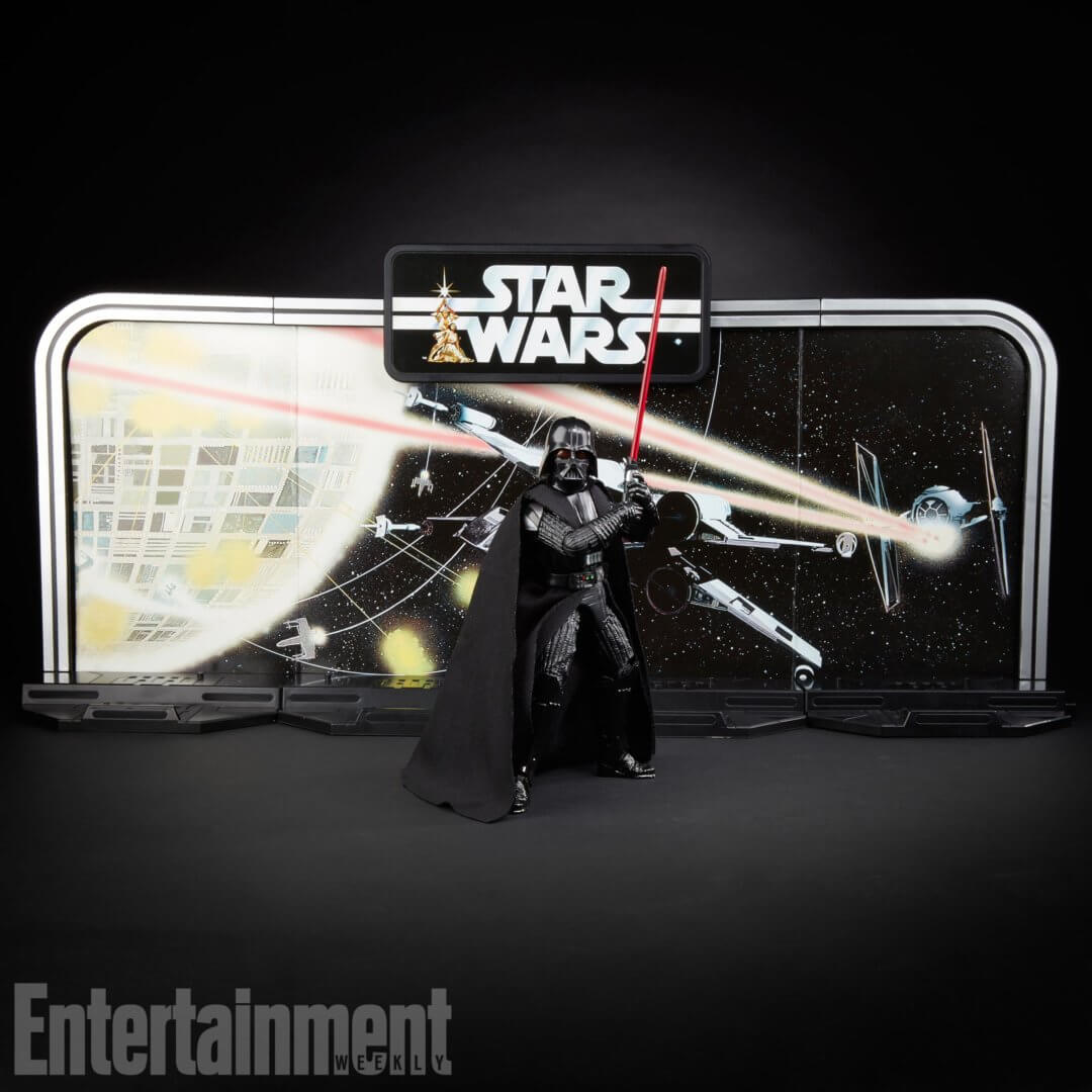 Star Wars Toys 2017 : Toy fair star wars black series gets new retro