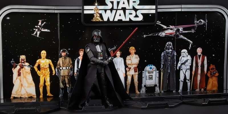 Star Wars Toys 2017 : Toy fair star wars black series gets new retro