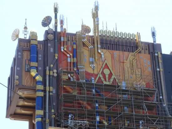 Guardians of the Galaxy - Mission: BREAKOUT Construction