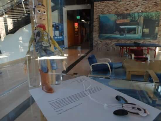 This Woody doll and the letter accompanying it made for a very touching tribute.