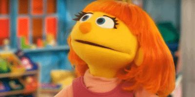 Julia Autistic Muppet