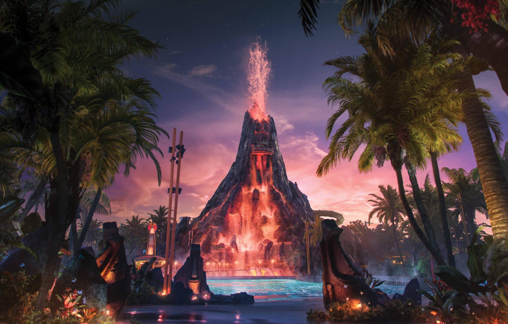 Universal's Volcano Bay_Krakatau Volcano