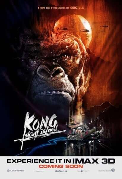 """Kong: Skull Island"" takes on ""Apocalypse Now"" in poster form as well."