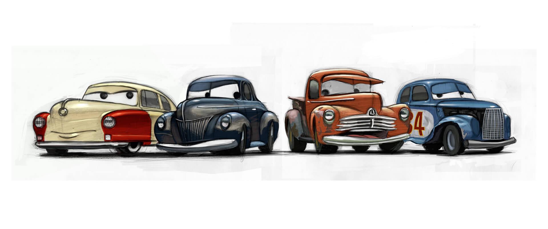 exclusive pixar animators get technical revealing how cars 3 revs up rendered realism. Black Bedroom Furniture Sets. Home Design Ideas