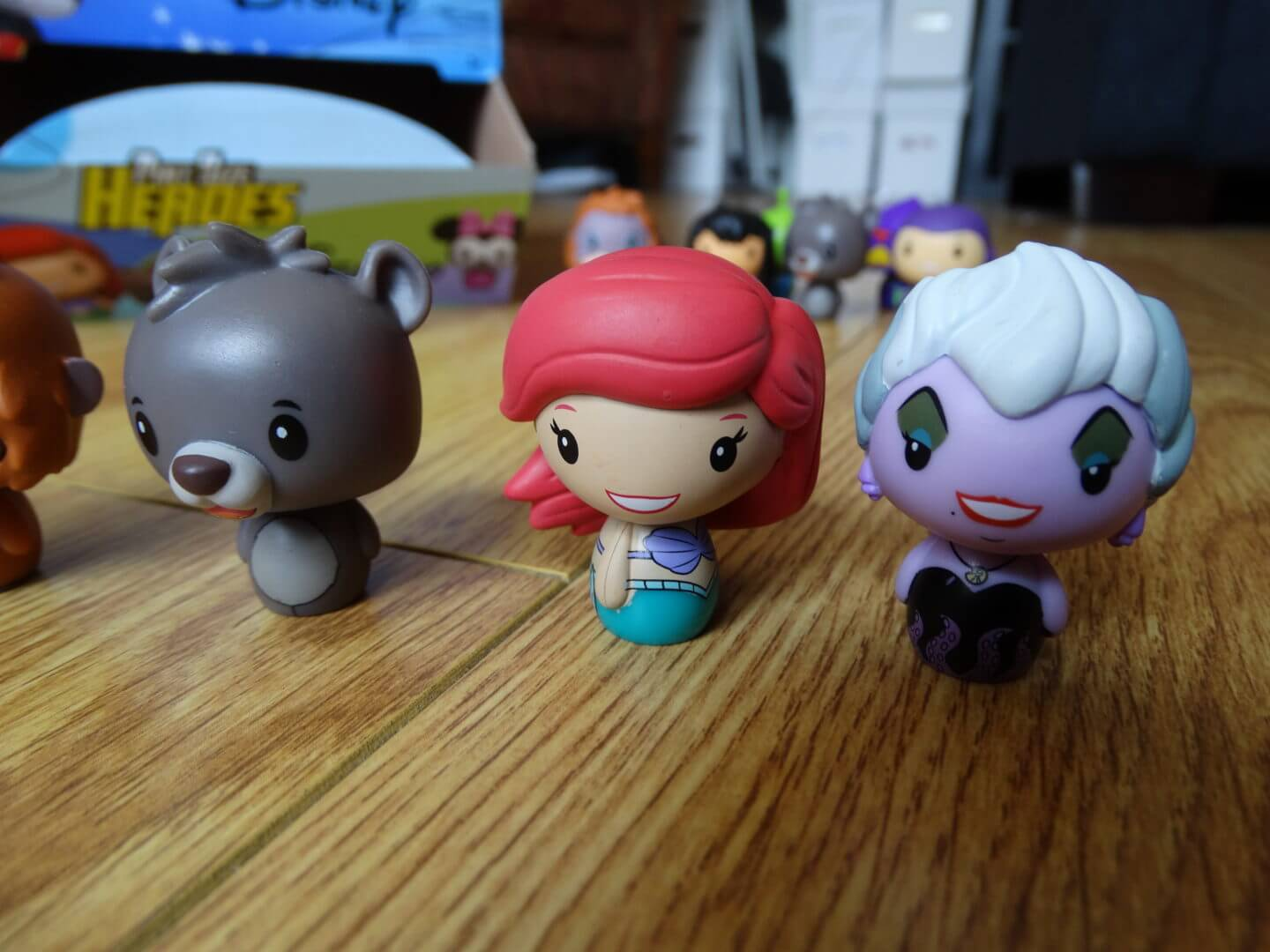 Review Unboxing Funko S New Disney Pint Size Heroes