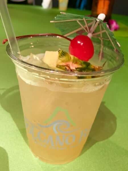 Volcano Bay Toasted Coconut Pineapple