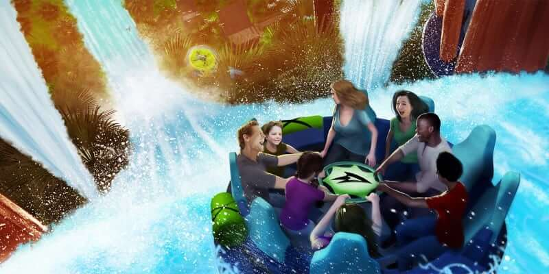 Infinity Falls river rapids ride coming to SeaWorld Orlando in ...