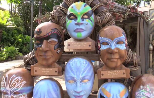 Colors of Mo'ara face painting