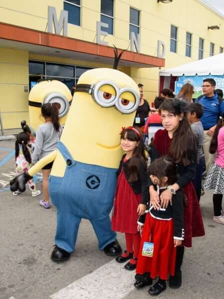 """Universal Studios Hollywood's annual """"Christmas in Spring"""" event."""