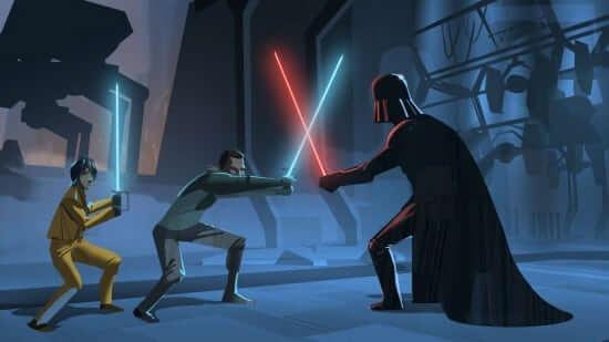 clone wars vader