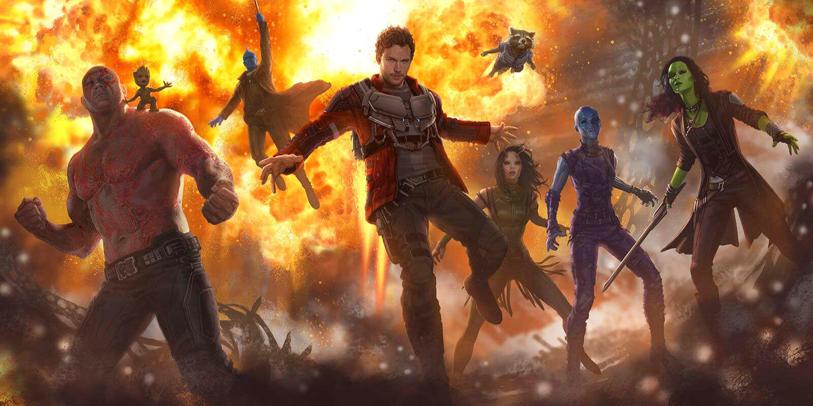 Guardians of the Galaxy Star Shares New Behind The Scenes Photo