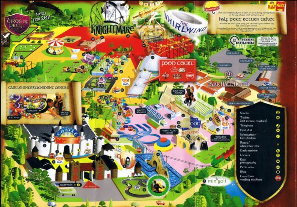 Lost Theme Parks The Magical Kingdom Of Camelot Theme Park Uk Inside The Magic