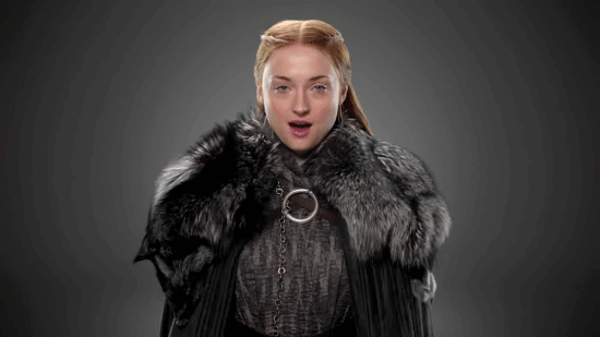 sansa-is-pure-stark-in-this-gray-and-black-outfit-her-silver-necklace-is-also-an-updated-version-of-a-piece-of-jewelry-she-wore-throughout-season-five