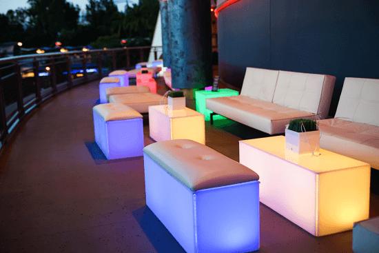 New Tomorrowland Skyline Lounge Fireworks Viewing Area
